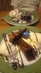 Blue ribbon brouwnie en triple chocolate meltdown