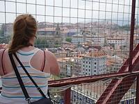 Uitzicht op Portugalete