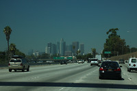 Lalaland, downtown LA in zicht