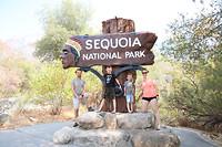 Ingang tot Sequoia NP