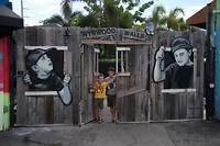 The boyzz @ Wynwood Walls