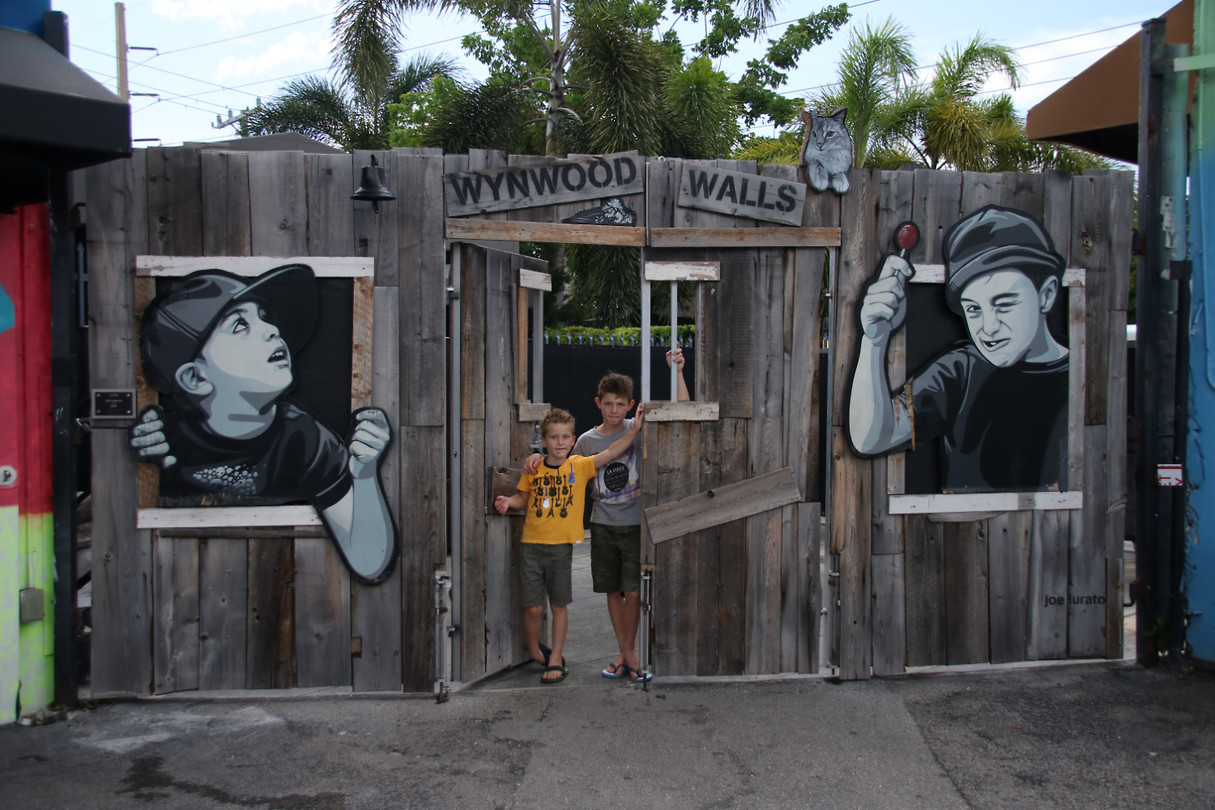 The boyzz @ Wynwood Walls