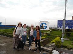 aankomst in Nepal