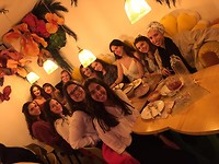 Goodbye lunch with Spanish class mates! In my favorite tapas restaurant Rosi La Loca