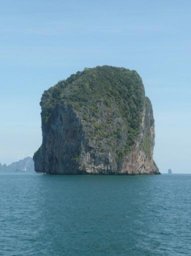 Op naar de Ko Lipe, super mooie boottocht.