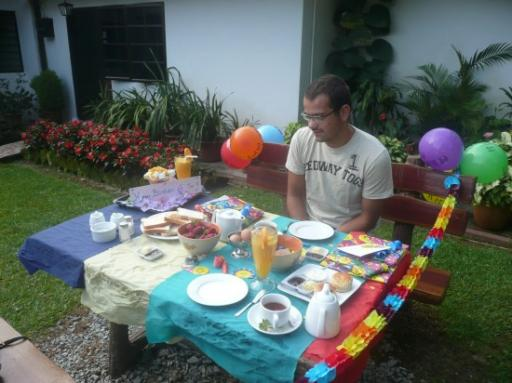 De verjaardags tafel....