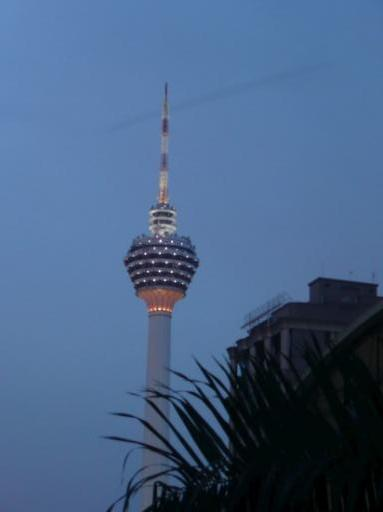 KL tower.