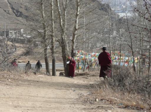 Onze weg terug naar Lhasa.