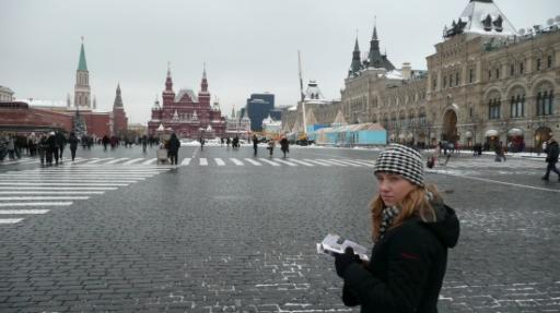 Het rode plein.