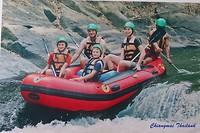 70 raften Mae Taeng rivier