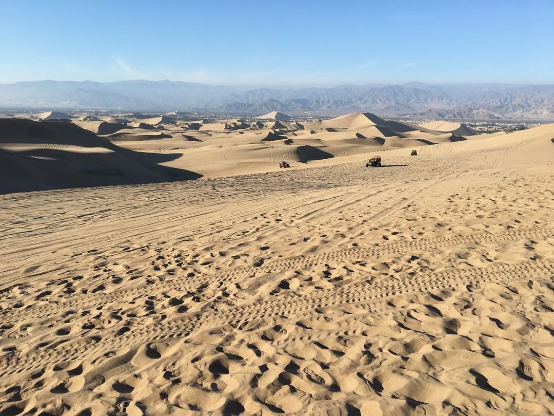 329 buggysporen in de duinen bij Huacachina