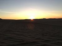 336 zonsondergang in de duinen bij Huacachina