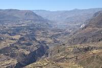 378 veel terrassen in de Colca vallei