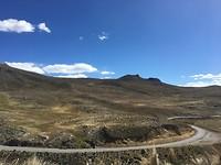 384 de weg over de hoogvlakte