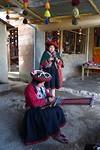 437 weven en spinnen in Chinchero