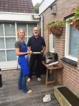 480 Vicky en haar vader baken springrolls