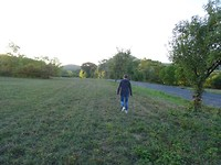 Nog even een rondje lopen rond Velemin