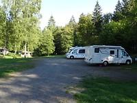 De Camperplaats bij Mezni Louka