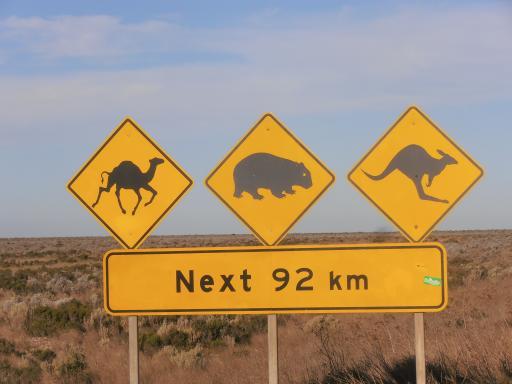 Verkeersborden | Foto | Australië - en Nieuw-Zeelandreis ...