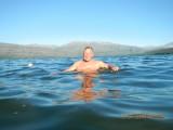 Dat was gisteren, 13-7 / Even afkoelen in het fjord, lekkere temperatuur