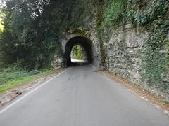 De weg langs het Garda meer naar Limone