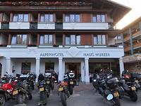 Hotel Filzmoos waar de receptie was geblokkeerd