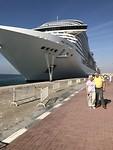 Cruise 2020 - Voordat we aanboord stapten in Dubai
