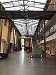 Dit is de binnenkant staande voor de receptie van ons hotel in Heidelberg 3-09-2020