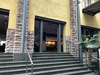 De bar van ons hotel in Heidelberg - prachtig gemaakt 3-09-2020