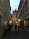 De grote en lange winkel en hoofdstraat van Heidelberg 3-09-2020
