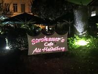 Ons restaurant in Heidelberg, de grill boeren worst 3-09-2020