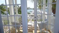 Ons balkon en uitzicht