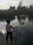 Een visser