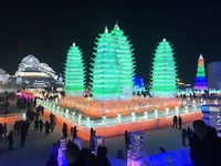 Vier pagodes