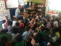Muziekles in de klas