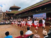 Een traditionele Nepalese dans