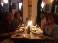 Farewell diner met Bharat