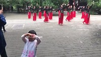 Chinese tradities in het zomer paleis in Beijing