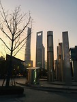 Sun Set in Pudong