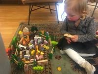 Gezellig spelen met Emily!!