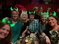Sint Patricks Day gevierd met de meiden in The Pearl.