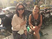 Nog nagenieten met een borrel samen met Joye!!
