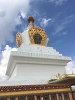 Een Stupa, zoals ik ze in Nepal ook heb gezien.