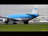 KLM Boeing 777-200, KL591 Departing RW18L at schiphol (dag 1)