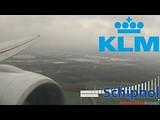 Timelapse I KLM Boeing 777-200 I landing Amsterdam (dag 22)