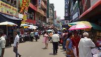 3rd Cross Street, de drukste winkelstraat van Colombo