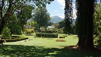 Deel van de botanische tuinen