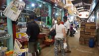 Inkopen op de markt in Kandy