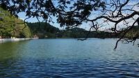 Kunstmatig meer in Kandy