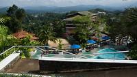 Uitzicht vanaf hotel Topaz
